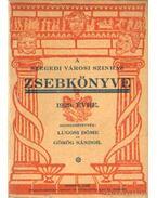 A Szegedi Városi Színház zsebkönyve 1929. évre - Görög Sándor, Lugosi Döme
