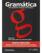 Gramática del espagnol lengua extranjera