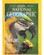National Geographic January 1994 Vol. 185. No. 1. - Graves, William (szerk.)