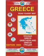 Greece Road Tourist Map