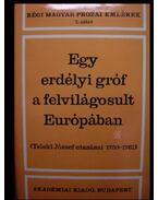 Egy erdélyi gróf a felvilágosult Európában