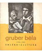Gruber Béla (1936-1963) emlékkiállítása 1964
