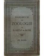 Handbuch der Zoologie III. Band - Gustav von Hayek