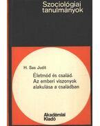 Életmód és család Az emberi viszonyok alakulása a családban - H. Sas Judit