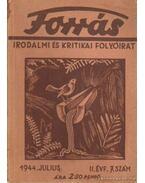 Forrás 1944. julius II. évfolyam 7. szám - Hankiss János