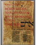 Héber kódexmaradványok magyarországi kötéstáblákban (dedikált)