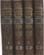 Heinrich Heine's Sammtliche Werke 1-12. (I-IV. kötet)