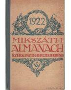 Mikszáth almanach 1922. - Herczeg Ferenc