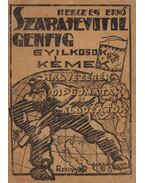 Szarajevótól Genfig (dedikált)