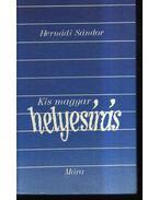 Kis magyar helyesírás - Hernádi Sándor