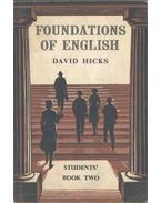 Foundations of English for Foreign Students - Students' Book Two - Hicks, David