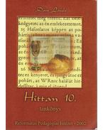 Hittan 10. tankönyv