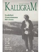 Kalligram 2001/1-2. - Hizsnyai Zoltán