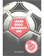 Labdarúgó almanach 1985 - Hoffer József