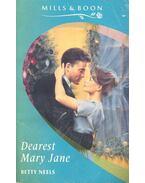 Dearest Mary Jane