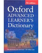Oxford Advanced Learner's Dictionary with Compass CD-Rom