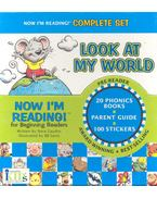 Now I'm reading! For Beginning Readers - 20 Phonics Books, Parent Guide,100 stickers