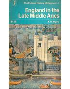 England in the Late Middle Ages
