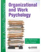 Organizational and Work Psychology