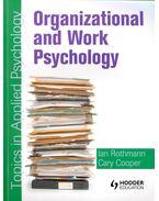 Organizational and Work Psychology