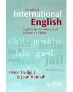 International English – A Guide to the Varieties of Standard English