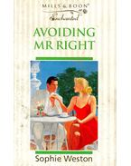 Avoiding Mr Right