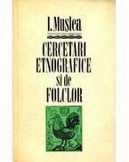 Cercetari etnografice si de folclor