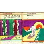 Poezii vol 1 – Teatru – Proza -  Autobiografica vol 2