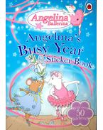 Angelina's BusyYear – Sticker Book