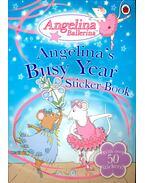 Angelina's BusyYear – Sticker Book