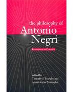The Philosophy of Antonio Negri – Resistance in Practice