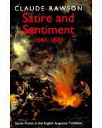 Satire and Sentiment 1660-1830
