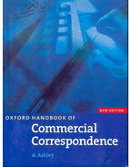 Oxford Handbook of Commercial Correspondance