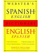 Webster's Spanish-English/English -Spanish Dictionary