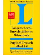 Enzyklopädisches Wörterbuch Englisch-Deutsch 1, Band A-M mit CD-ROM