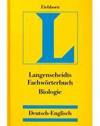 Fachwörterbuch Biologie – Deutsch-Englisch