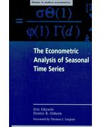 The Econometric Analysis of Seasonal Time Series - GHYSELS, ERIC – OSBORN, DENISE R.