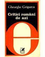 Critici români de azi