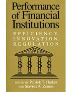 Performance of Financial Institutions