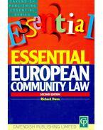 Essential European community Law