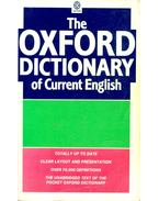 The Oxford Dictionary of Current English
