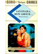 Sayonara, mon amour...