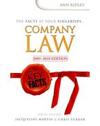 Company Law 2009-2010 Edition – Key Facts