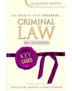 Criminal Law 2009-2010 Edition – Key Cases