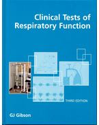 Clinical Tests of Respiratory Function