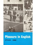 Pleasure in English – Stage One