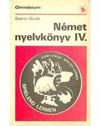 Német nyelvkönyv IV.