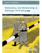 Democracy and Dictatorship in Germany 1919-63 for OCR