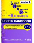 Special Needs Assessment Profile – Behaviour – User's Handbook