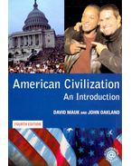 American Civilization - An Introduction (4th edition)